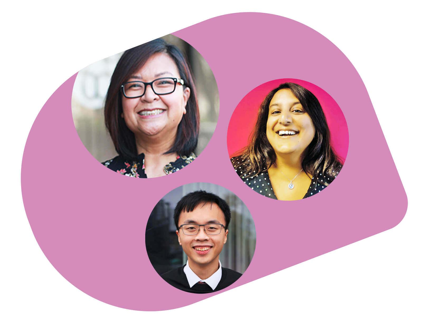 Inclusive recruitment with Annie Boneta, Mo Kanjilal, and Richard Ng